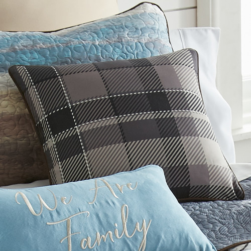 Woodland Lodge Plaid Pillow