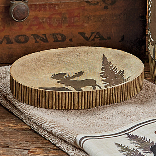 Woodland Moose & Bear Soap Dish