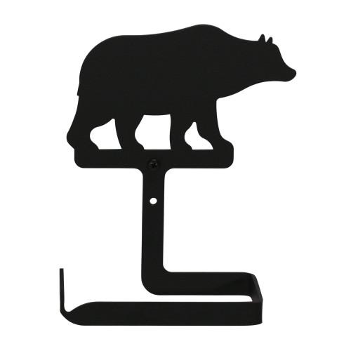 Wrought Iron Bear Arm Toilet Tissue Holder