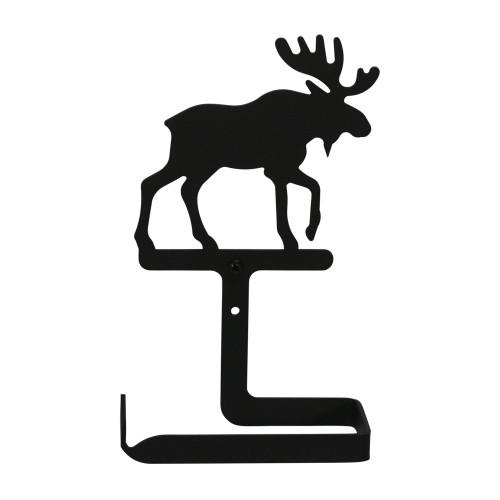 Wrought Iron Moose Arm Toilet Tissue Holder