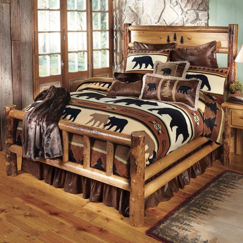 Yosemite Log Bed - Queen