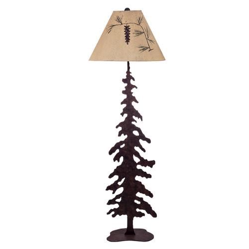 Ozark Pine Floor Lamp