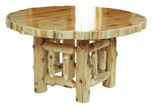 Cedar Log Dining Furniture