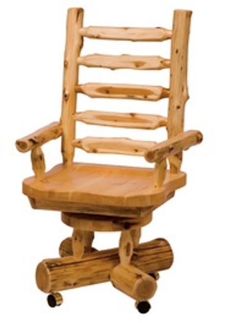 Cedar Log Office Furniture
