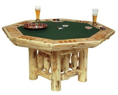 Cedar Log Game Furniture
