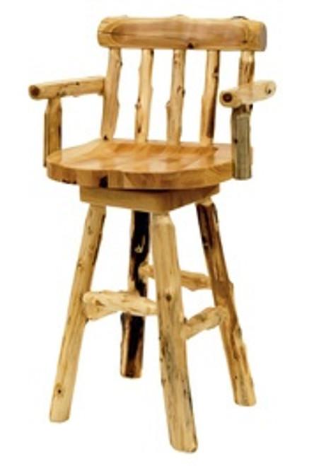 Cedar Log Pub Furniture