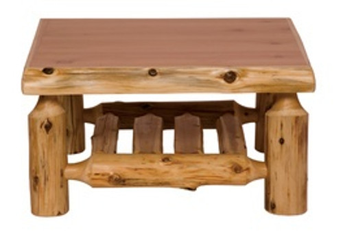 Cedar Log Occasional Tables