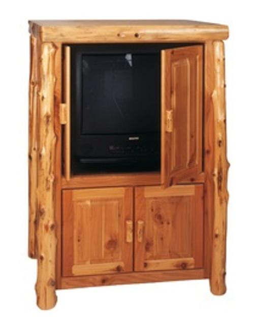 Cedar Log Living Rooms & Media Centers