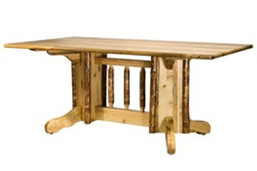 Pine Log Tables