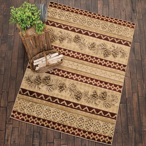 Pinecone Rows Rug Collection