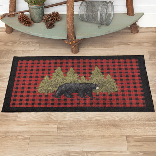 Forest's Edge Bear Accent Rugs