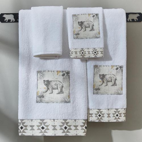 Woodland Spirits Bear Towel Collection