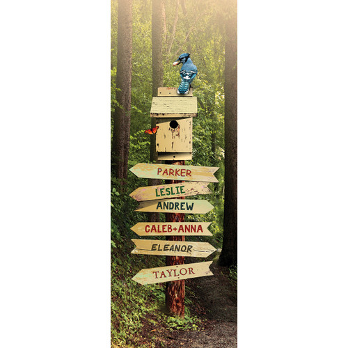 Forest Path Personalized Wall Art