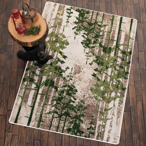 Evergreen Mist Rug - 3 x 4