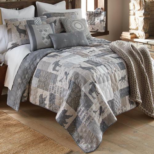 Slate Ridge Lodge Quilt Set - Twin