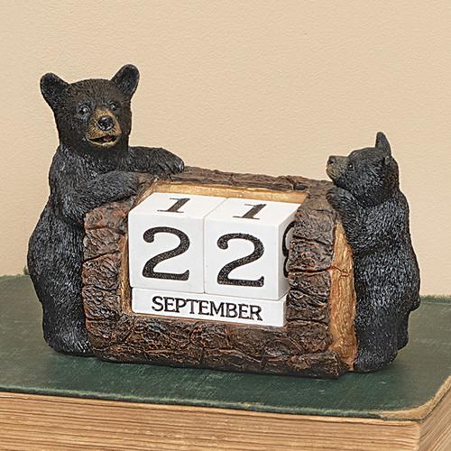 Black Bears Desk Calendar