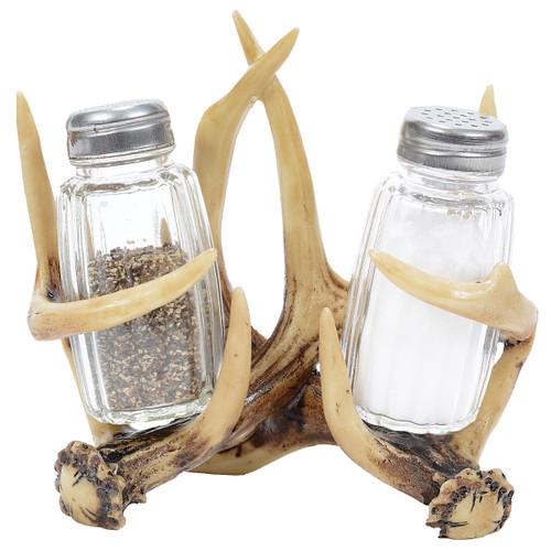 Antler Rack Salt & Pepper Shaker Set