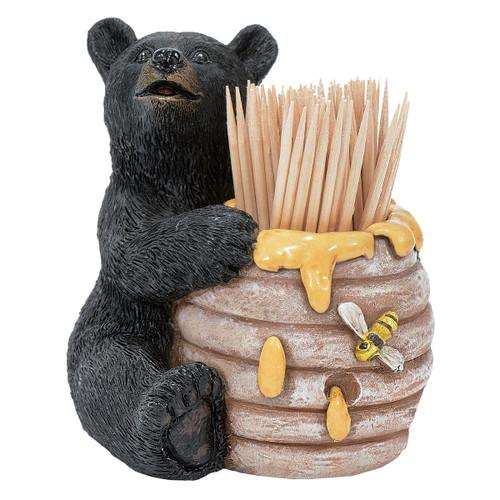 Honey Bear Toothpick Holder