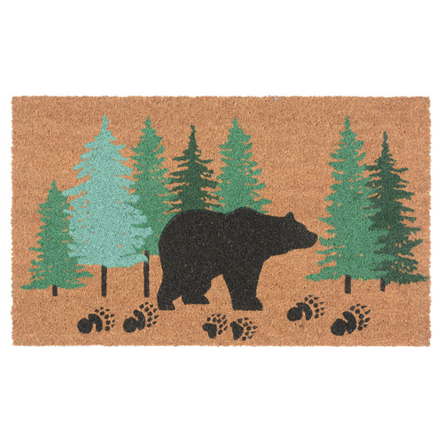 Bear Tracks Coir Doormat