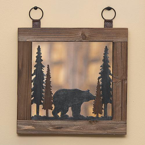 Woodland Bear Mirror