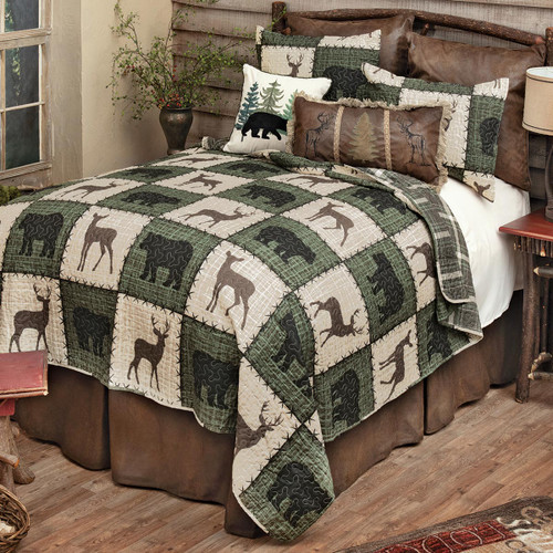 Forest Lodge Quilt Set - Twin
