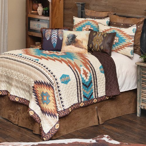 Sunrise Canyon Quilt Bedding Collection