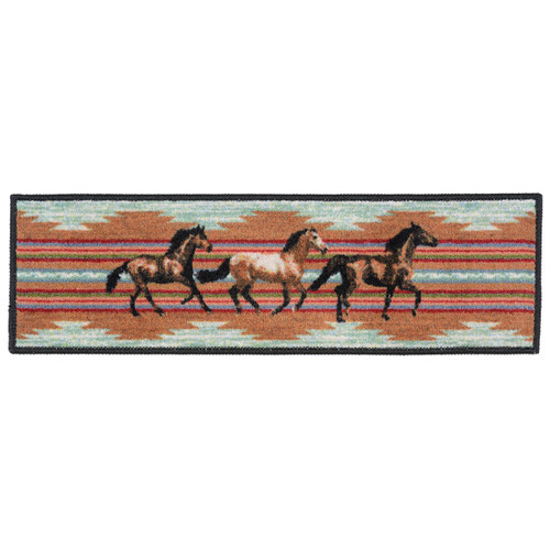Galloping Horses Stair Tread