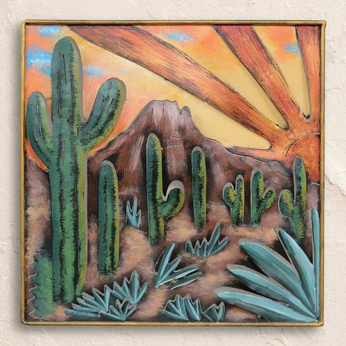 Sonoran Sunrise Metal Wall Art