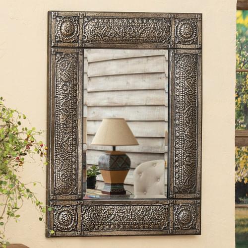 Silverthorn Scroll Wall Mirror