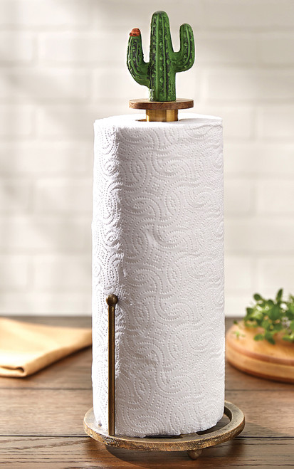 Saguaro Cactus Paper Towel Holder