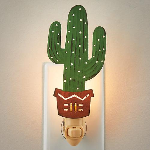 Saguaro Cactus Nightlight