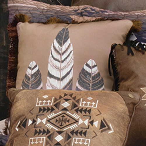Diamond Mesa Accent Pillow