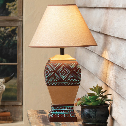 Turquoise Valley Table Lamp