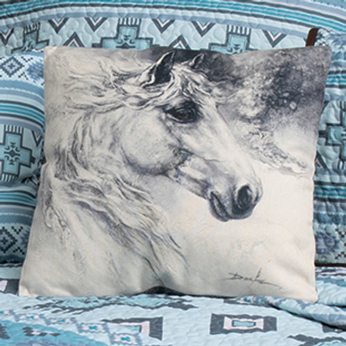 Graystone Horse Accent Pillow