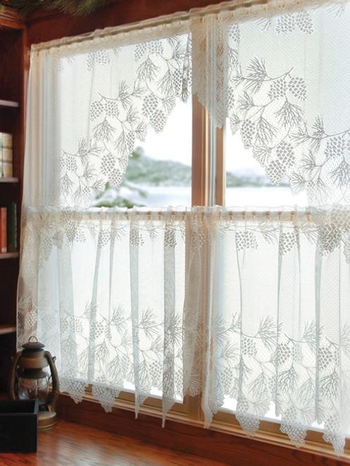 Woodland Lodge Lace Window Treatments