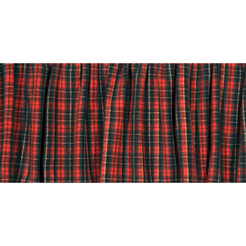 Wooded River Plaid Bedskirts