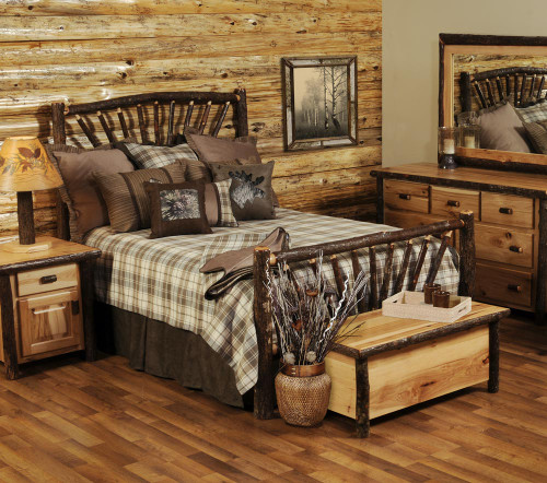 Hickory Log Bedroom Furniture Collection