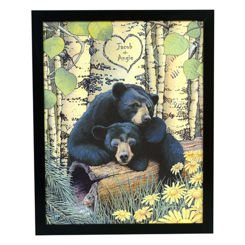 Personalized Love Bears Print