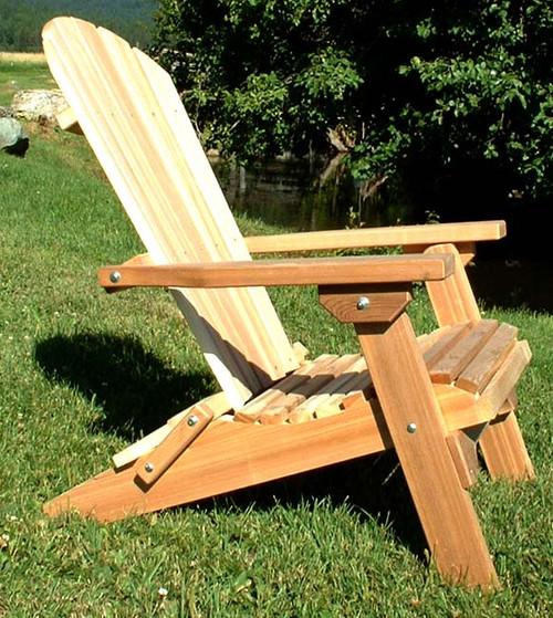 Rustic Cedar Adirondack Chair