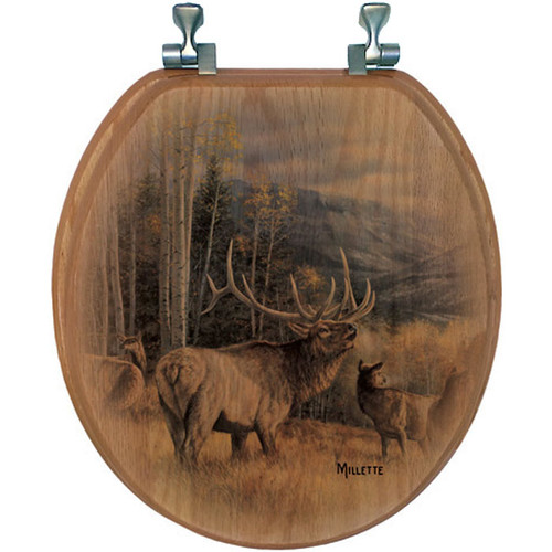 Meadow Music Elk Toilet Seat