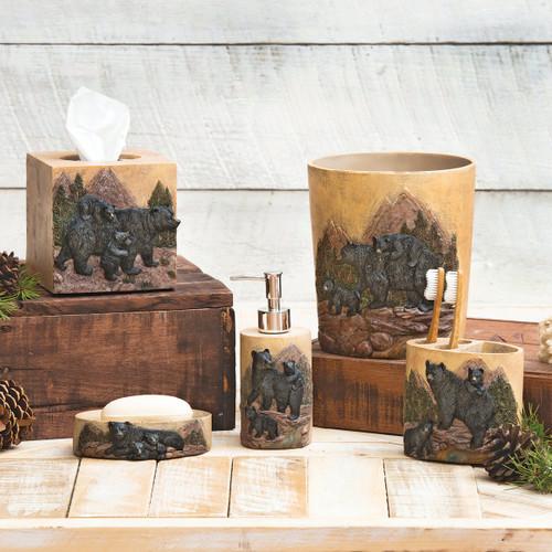 Black Bear Mountain Bath Accessories