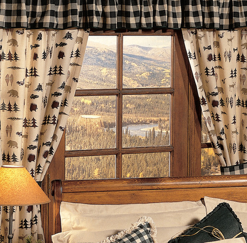 Northern Exposure Curtain Drapes & Valance