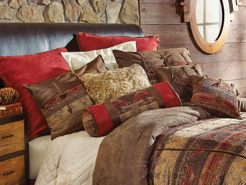 Sierra Chenille Suede Pillows and Shams