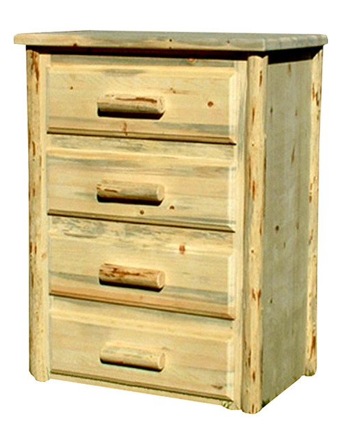 Rustic Chest with 4 Drawers