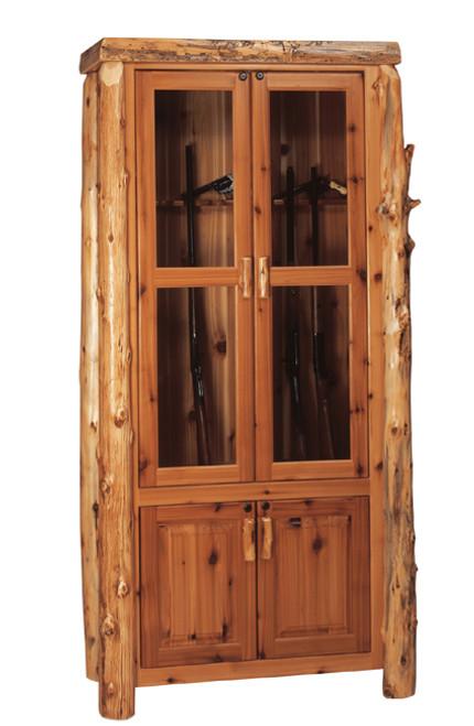 Log 8 Gun Cabinet