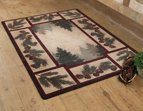 Pine Forest Rug - 5 x 8