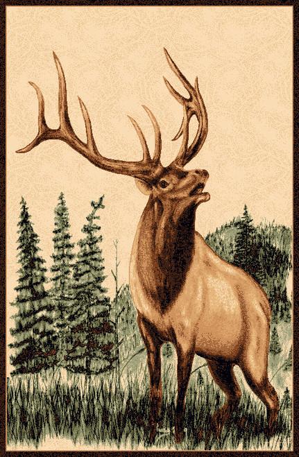 Bugling Elk Rug Collection