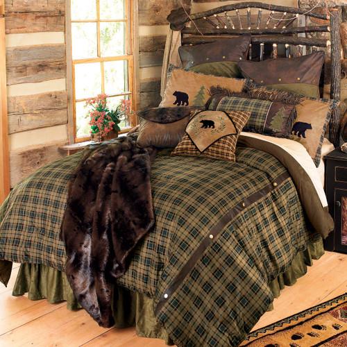 Alpine Bear Bed Set - Queen