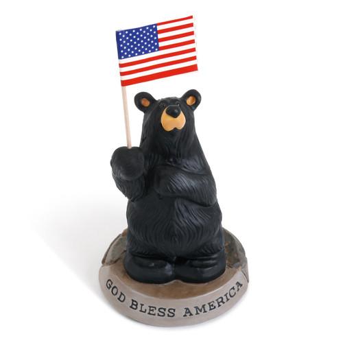 American Bear Figurine