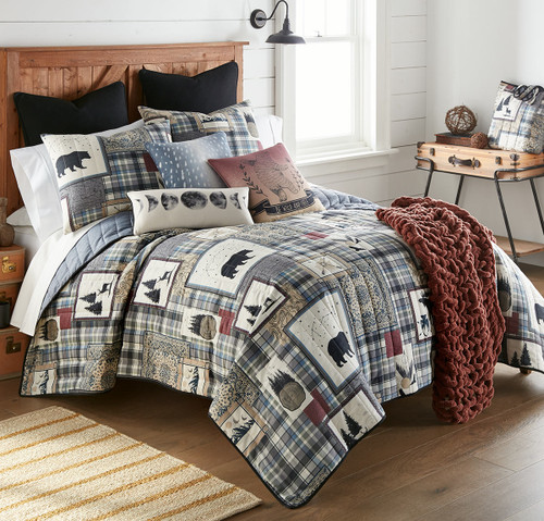 Celestial Wildlife & Woodlands Quilt Bedding Collection